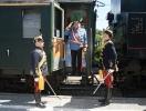 Kaiserzug Ankunft in Bad Ischl
