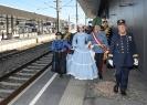 Kaiserzug Attnang Puchheim Bahnsteig 1 (Empfang/Ehrungen der Lokmanschaft)_5